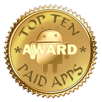 Top Ten Paid Apps Award Winner